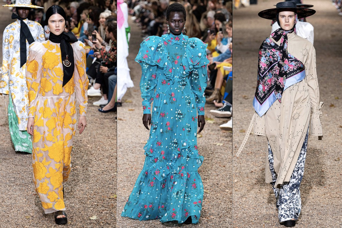 London Fashion Week SS20 Best Runway Shows Burberry JW Anderson Matty Bovan Simone Rocha Marques Almeida Jamie Wei Huang Erdem Roberta Einer