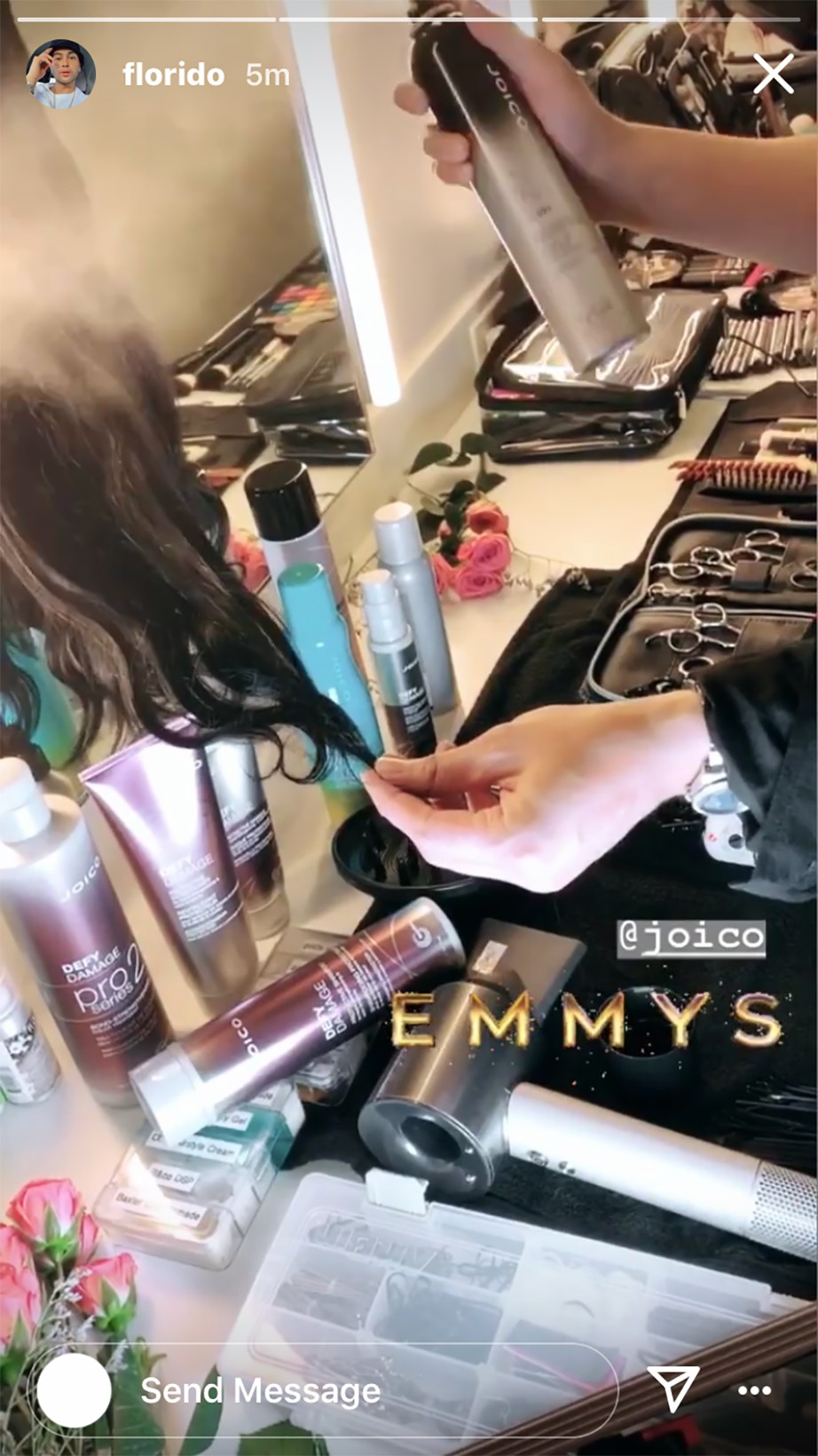 halsey 71 emmy awards florido joico celebrity hairstylist hairstyle singer beauty style