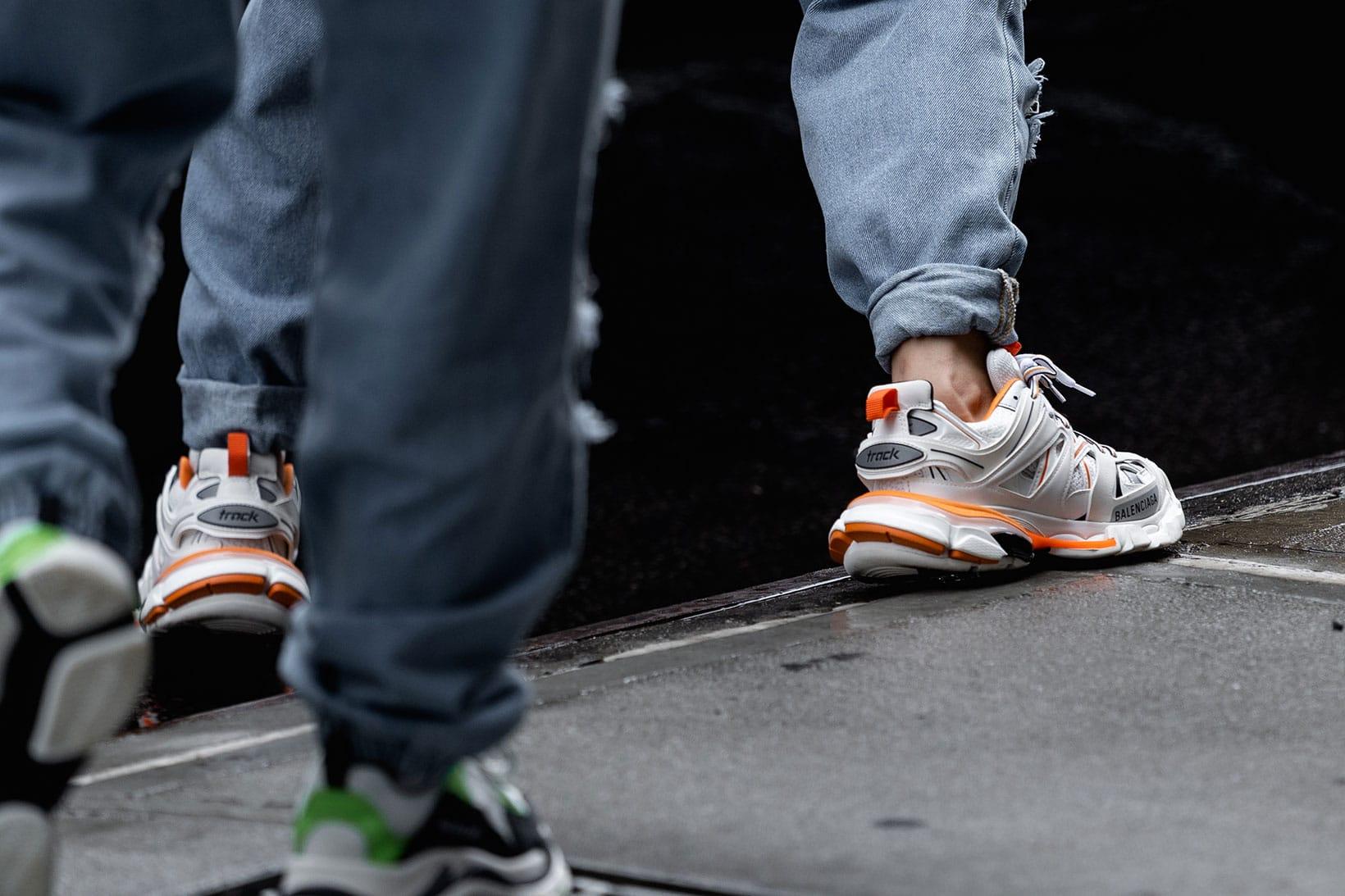 balenciaga sneaker street style