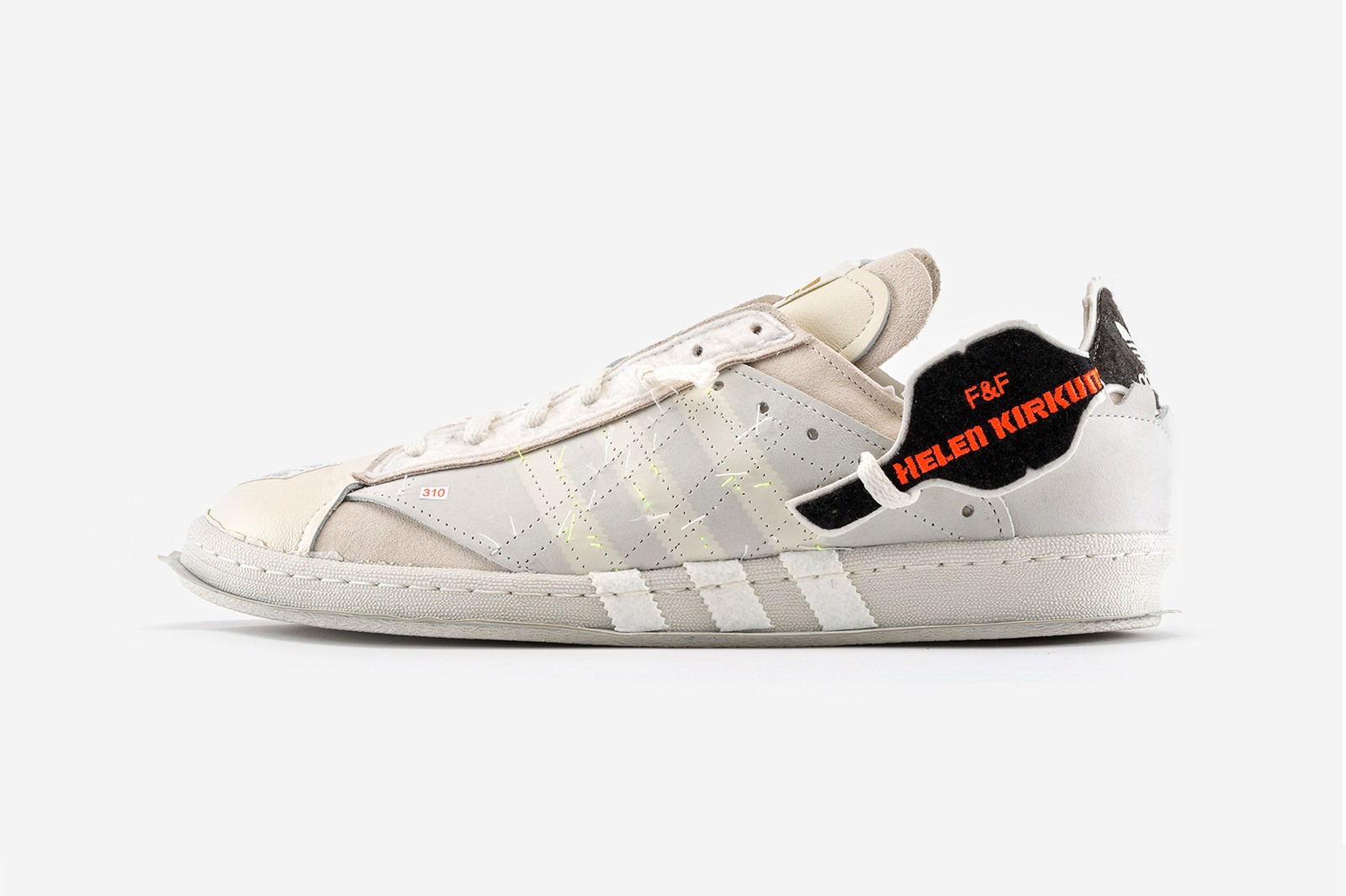 Helen Kirkum adidas Originals Campus 80 Sneakers collaboration makerlab