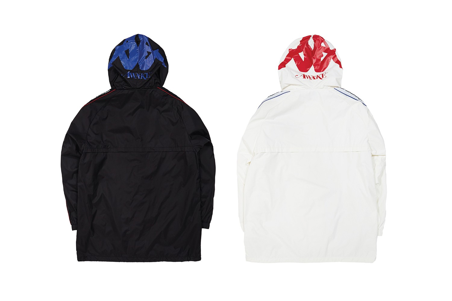 awake ny kappa fall winter capsule collection 90s retro sportswear jackets jerseys bucket hats angelo baque