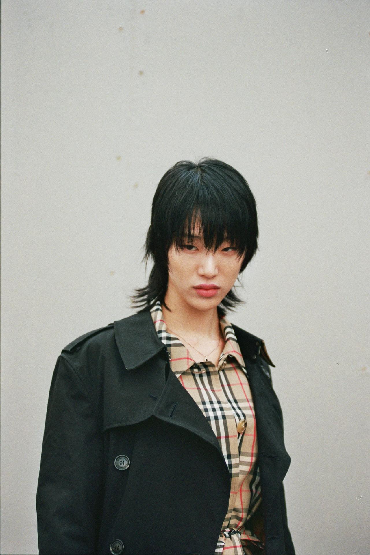 Best Model Off-Duty Style Fashion Week SS20 Spring Summer 2020 Grace Elizabeth Sora Choi Mona Tougaard Burberry Nova Check