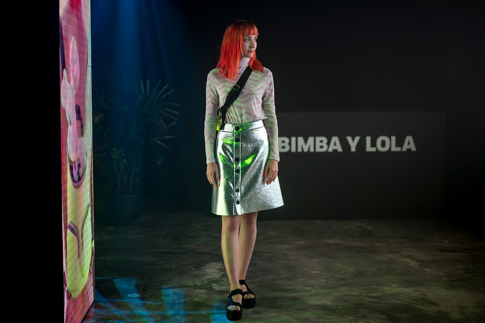 bimba y lola ines alpha 3d makeup artist campaign video singapore event