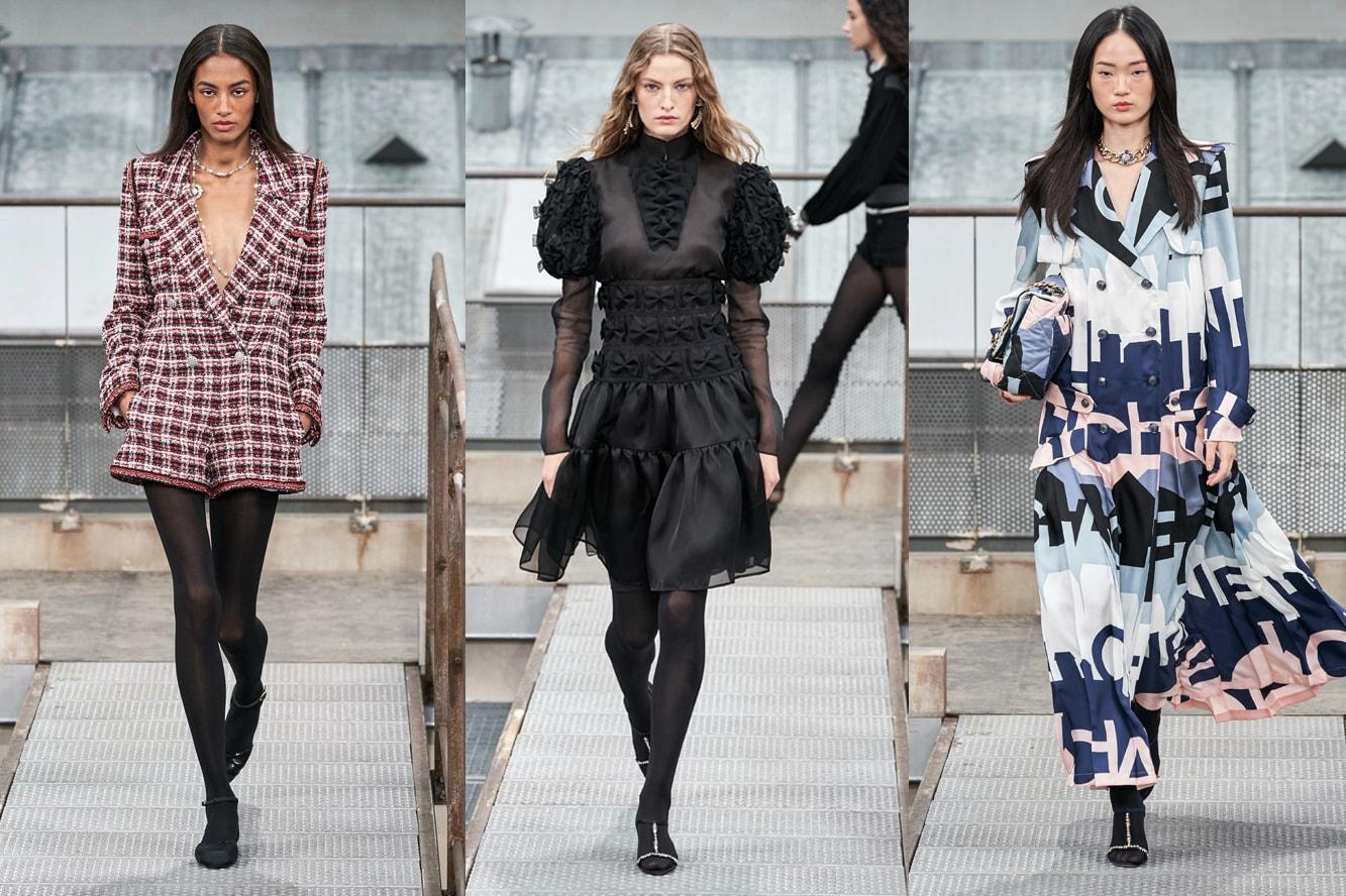 Chanel SS20 Paris Fashion Week Show Crasher Jennie Kim Blackpink Cardi B Anna Wintour Spring Summer 2020 Collection