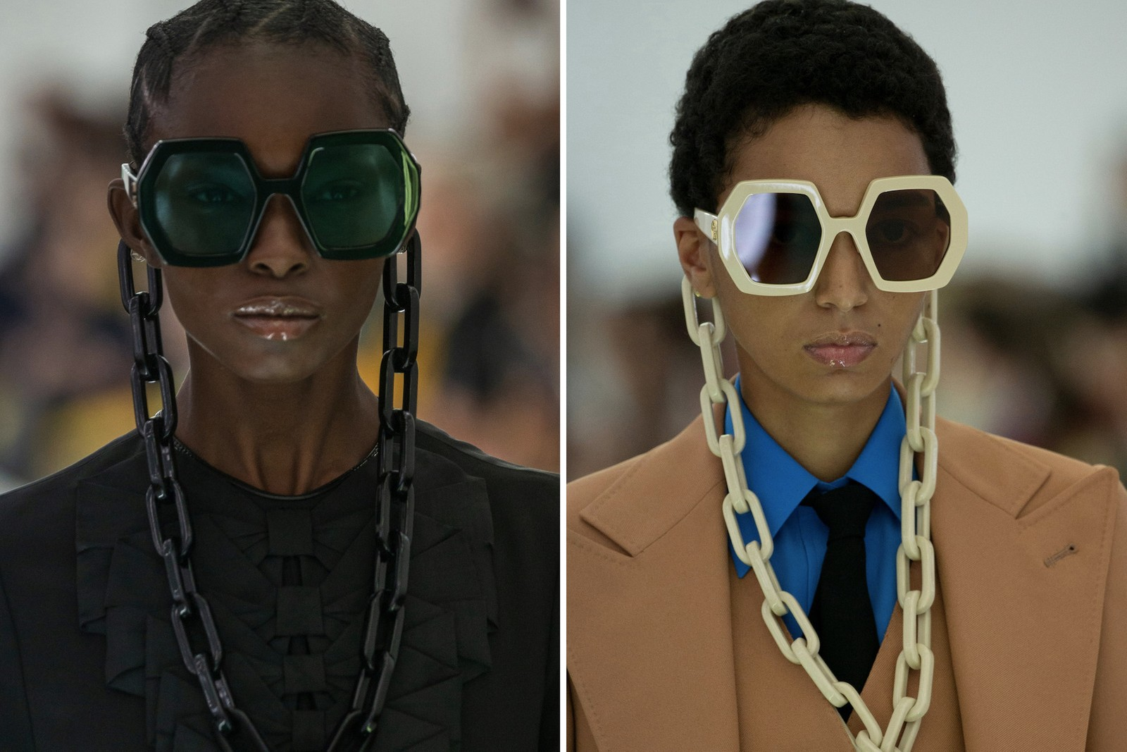 Craziest Looks from Fashion Month Spring/Summer 2020 SS20 Paris London Milan New York Fashion Thom Browne Balenciaga Maison Margiela Dries Van Noten Comme Des Garcons Gucci
