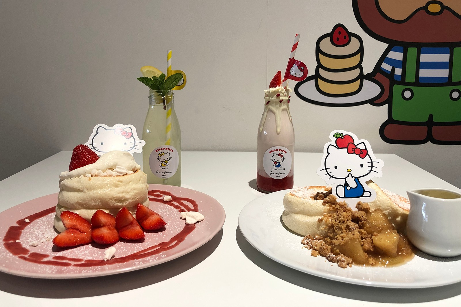 Hello Kitty Fuwa Fuwa Japanese Soufflé Pancakes London Brunch Review Instagram