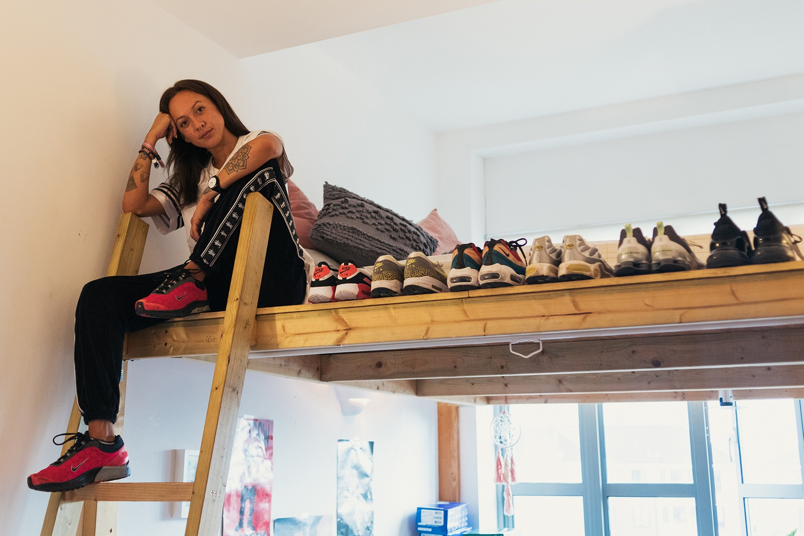 Jess Gavigan Juice Gee Female Sneaker Collector UK Interview @juicegee Sneakerhead