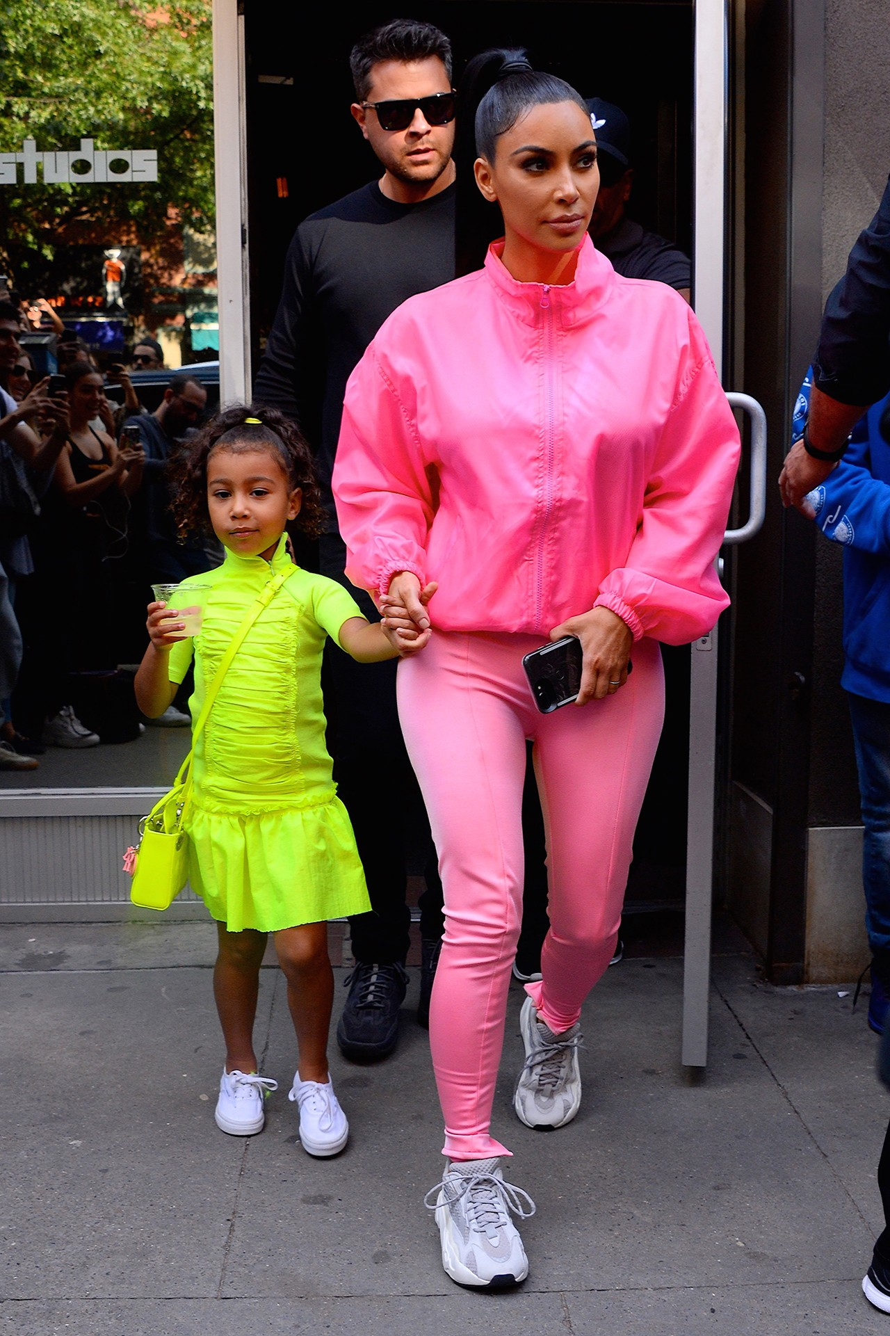Kim Kardashian North West Mother Daughters Chicago Celebrity Kids