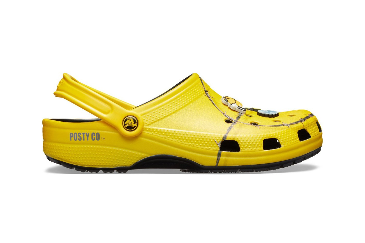Best Crocs Shoe Collaborations Balenciaga Beams Post Malone Chinatown Market Clog Rubber Shoe Barneys Christopher Kane