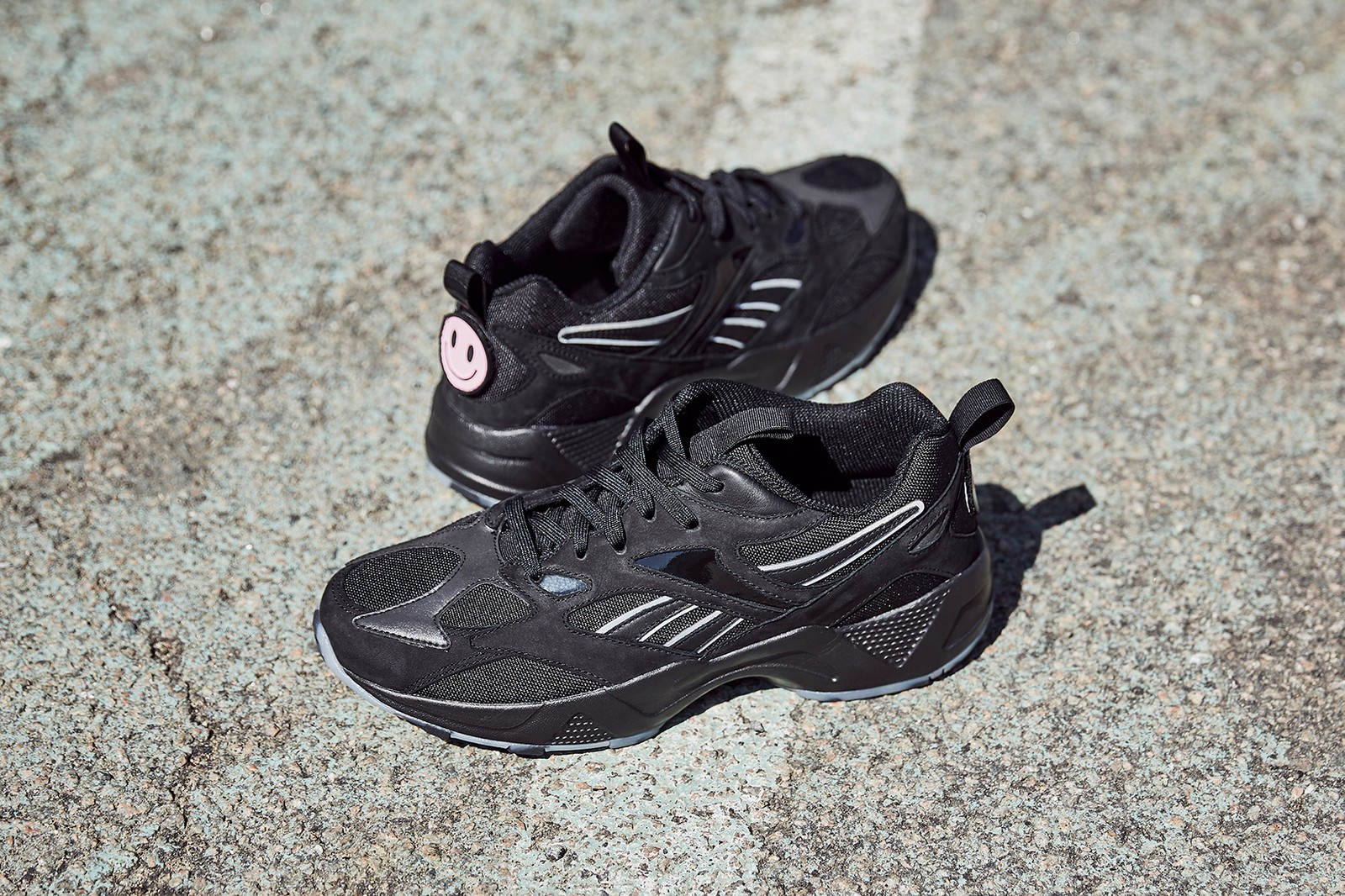 reebok ebony naomi oshunrinde wondagurl aztrek 96 sneakers its a mans world campaign footwear shoes sneakerhead