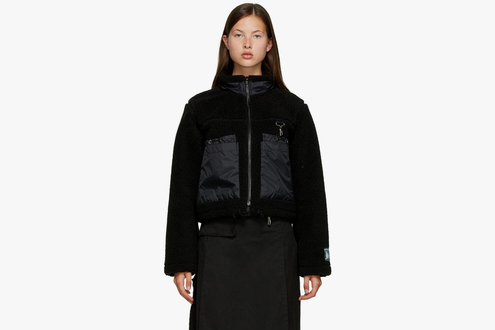 best fleece teddy shearling jackets fall winter ambush nike acne studios