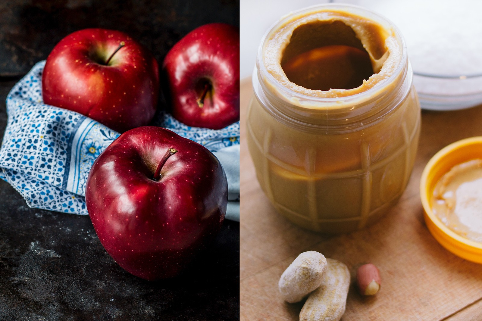 best healthy simple snacks eat work office food fruits granola honey apples health black coffee cinnamon oatmeal