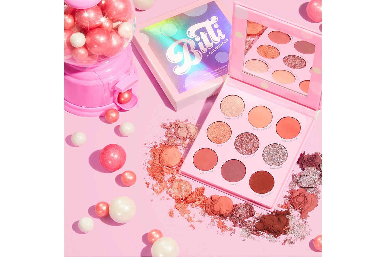 PONY Park Hye Min Bitti x ColourPop Makeup Collaboration Campaign Beauty K-Beauty Korean Makeup Artist