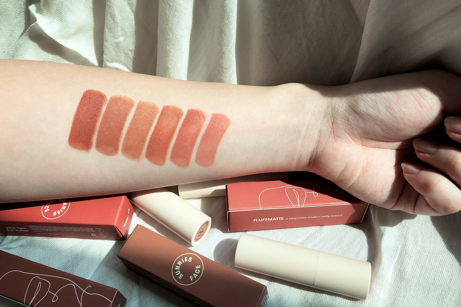 sunnies face nudeish fluffmatte collection lipsticks makeup philippines beauty cosmetics nude