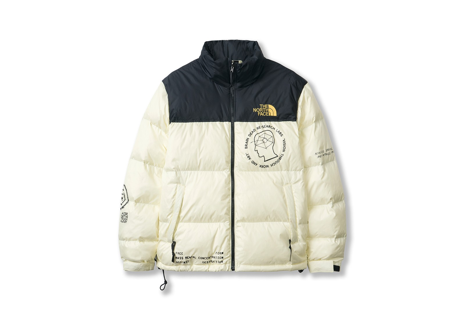the north face brain dead collaboration jackets- shades sweaters snow winter fashion clothes