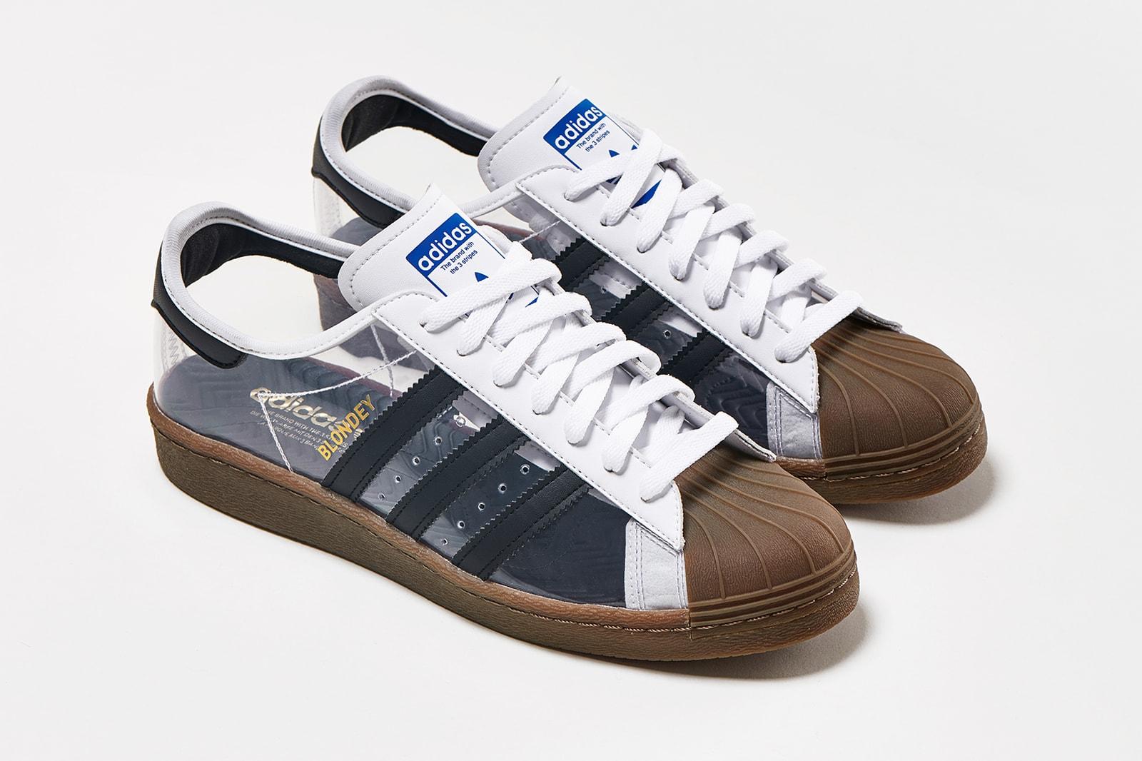 adidas skateboarding blondey mccoy superstar sneaker transparent shoes footwear sneakerhead
