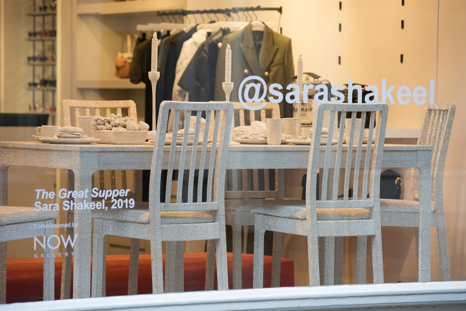 Sara Shakeel x Browns Fashion Exclusive Collection Release Store Installation