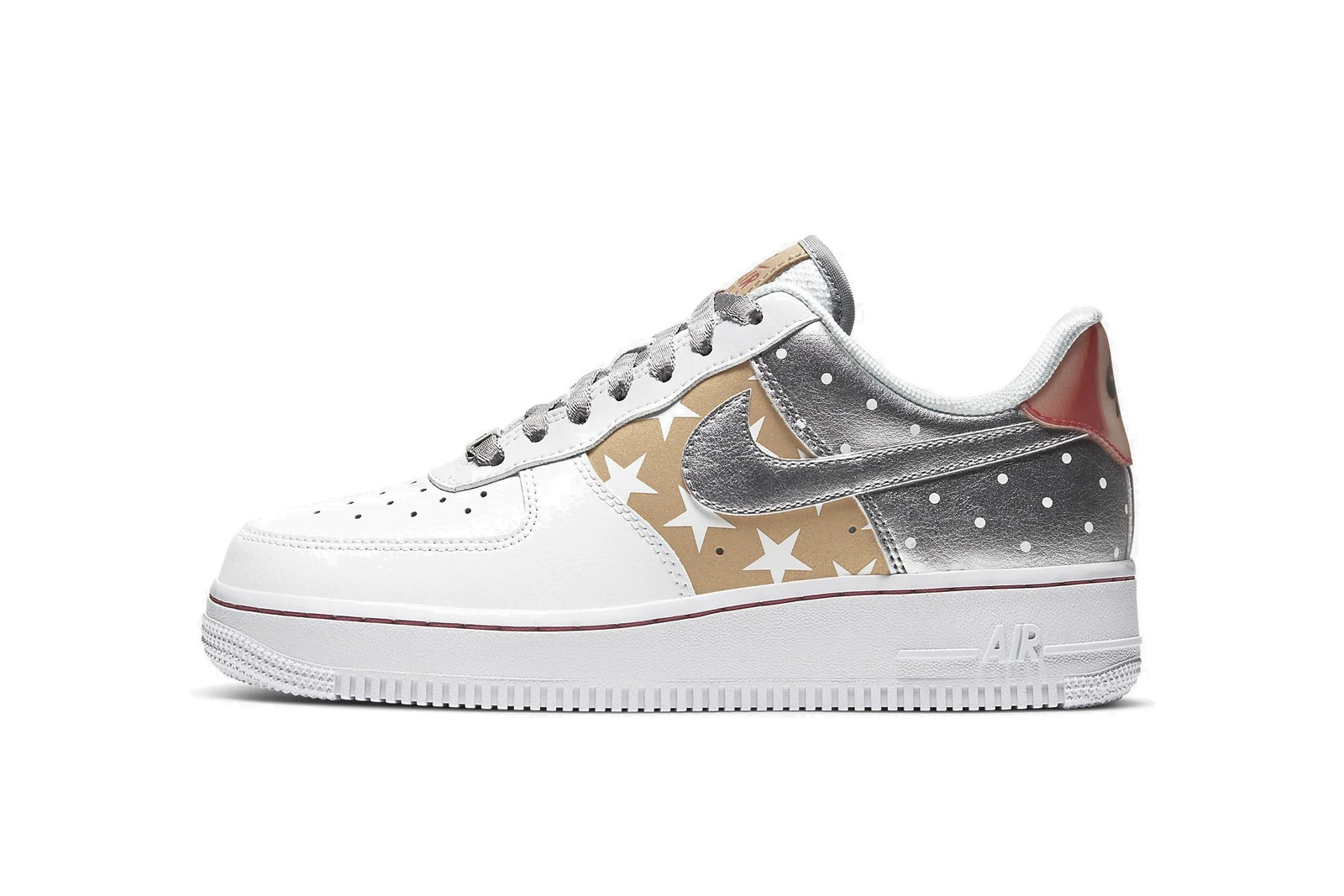 Best Festive Sneakers Sparkly Glitter Shoes Holiday Nike Jordan Brand Off-White™ Party Silver Gold