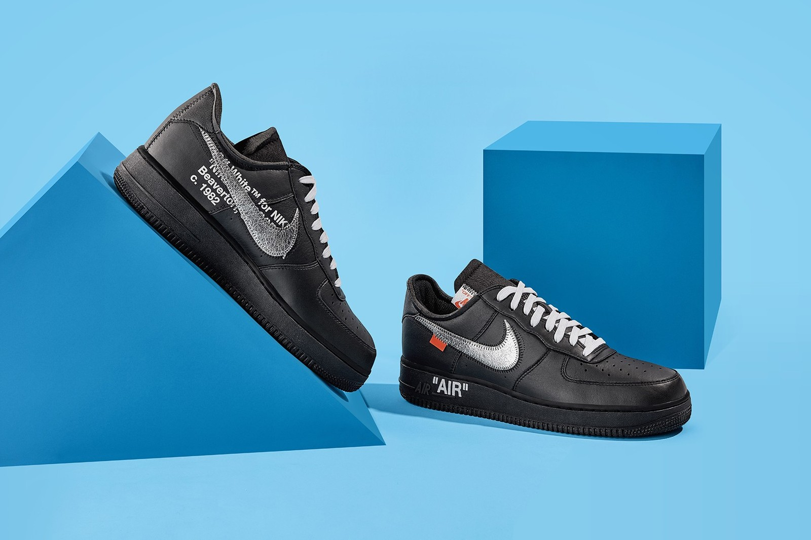 Off White x Nike Air Force 1 MoMA Low