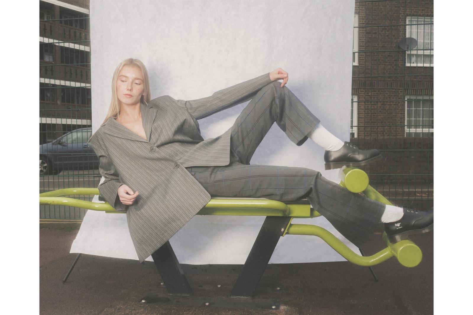 Modern Suits Women's Tailoring Fashion Trend Blazer Trousers Acne Studios DELADA Raf Simons Dr. Martens Noir Kei Ninomiya