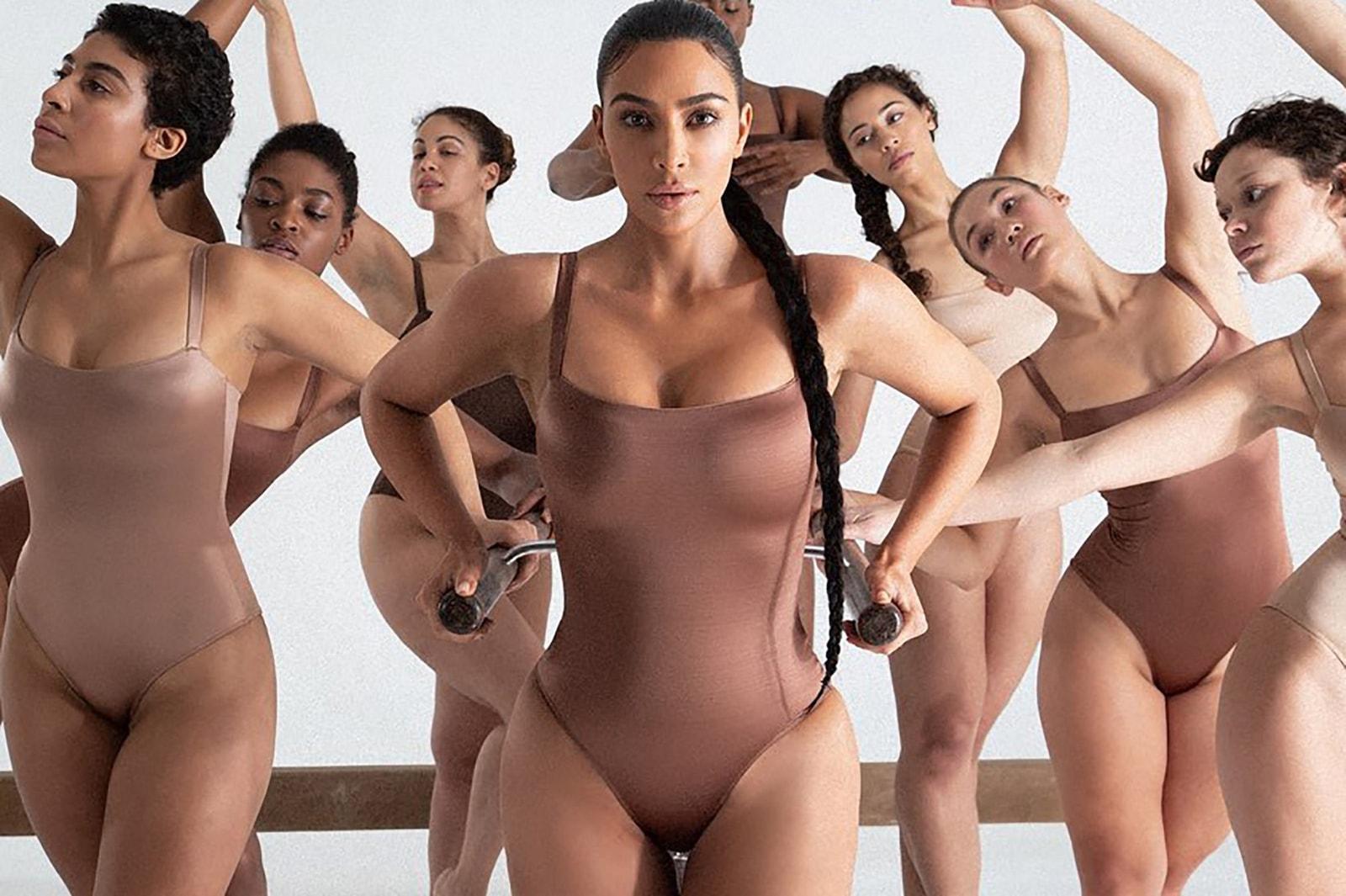 balenciaga hello kitty bags kim kardashian skims lingerie bodysuits