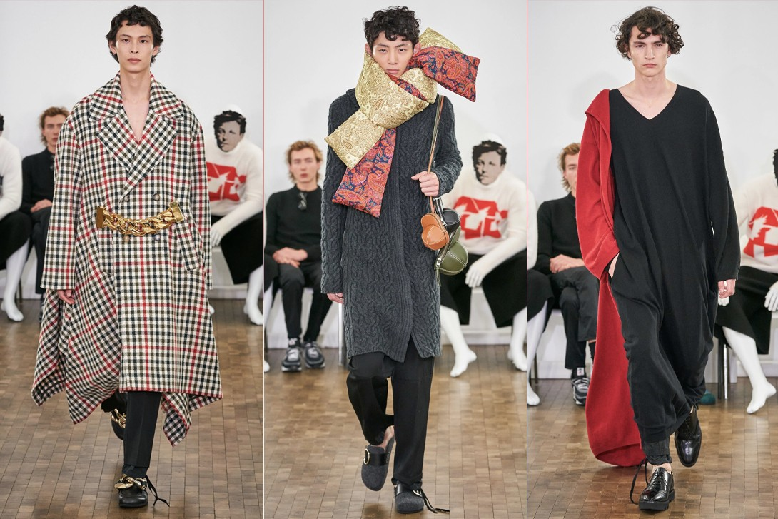 Paris Fashion Week Men's Fall/Winter 2020 Best Shows Louis Vuitton Dior Jacquemus JW Anderson Loewe Sacai Dries Van Noten