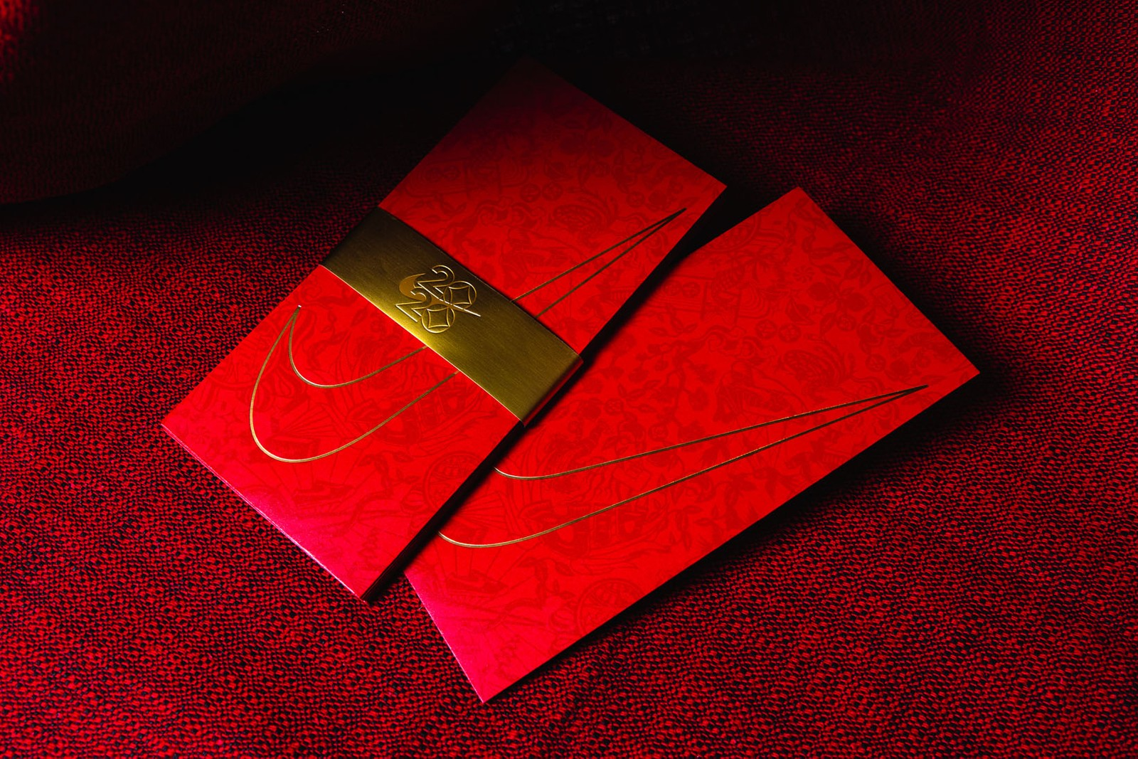 lunar new year red pockets envelopes hong bao lai see louis vuitton celine gucci