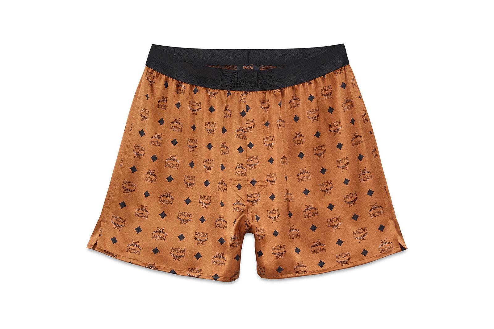 MCM Loungewear Sleepwear Collection Lookbook Robe Pajamas Shorts