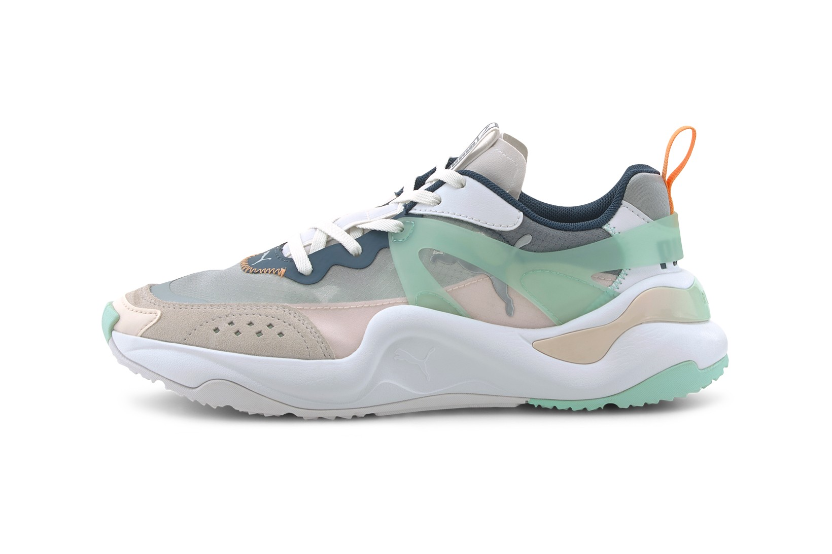Pastel-Colored Rise Sneaker