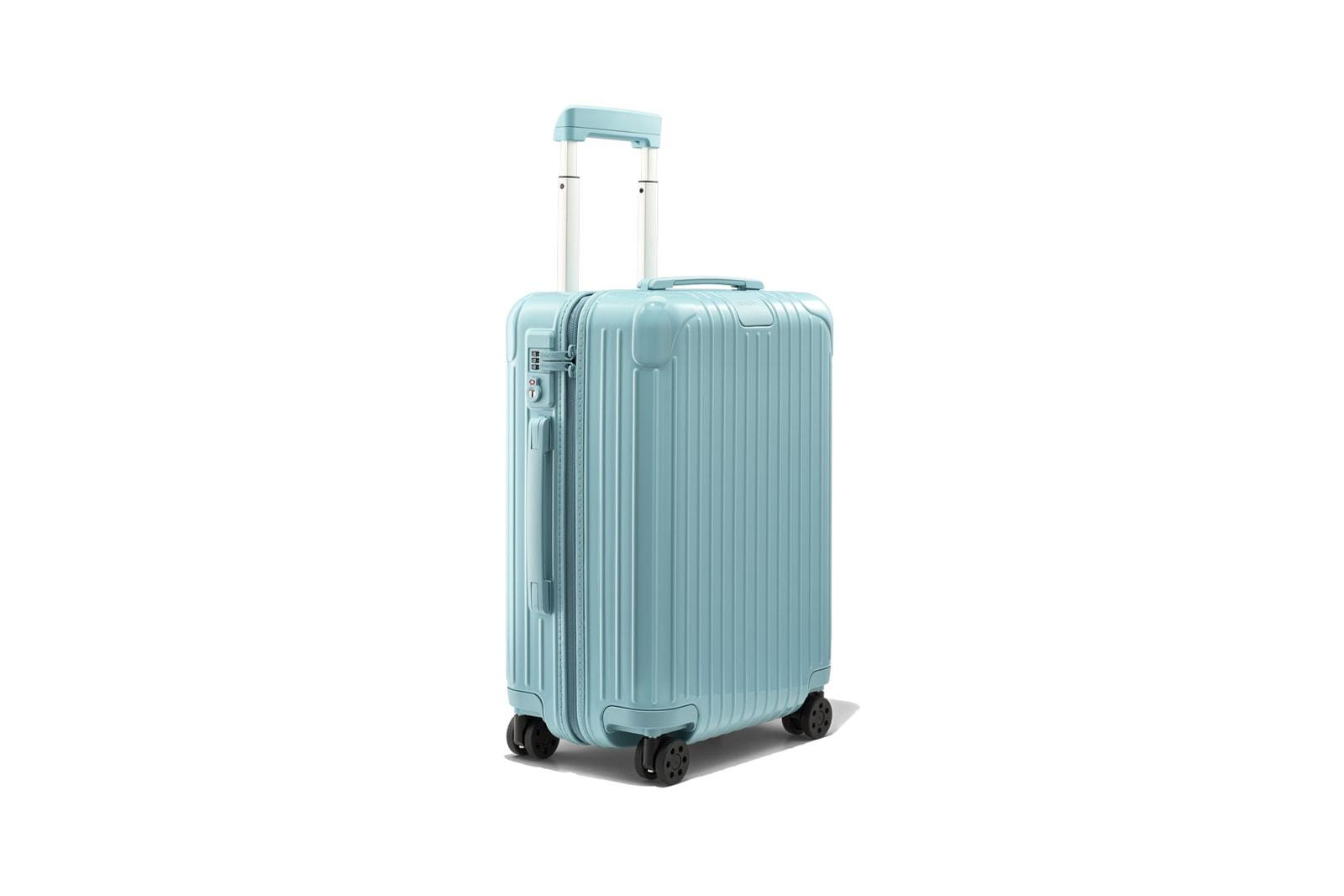 RIMOWA Essential Cabin Check-In Glacier Suitcase Luggage