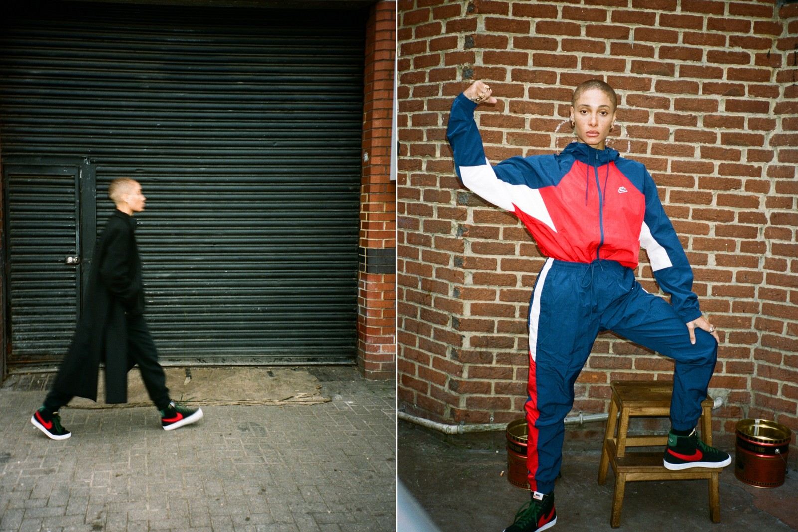 Adwoa Aboah Nike By You Blazer Mid Sneaker Interview Fashion Customization Personal Style