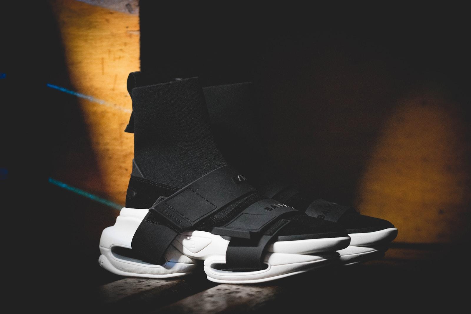 Olivier Rousteing Balmain BBOLD Sneaker Interview Shoe Release