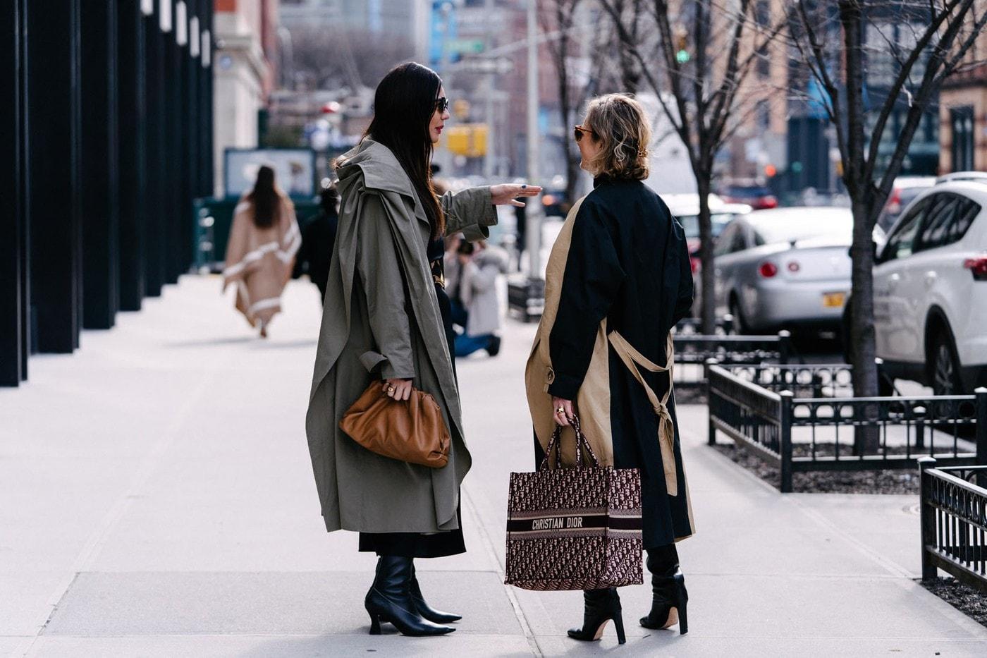 New York Fashion Week Fall Winter 2020 NYFW FW20 Street Style Designer Bag
