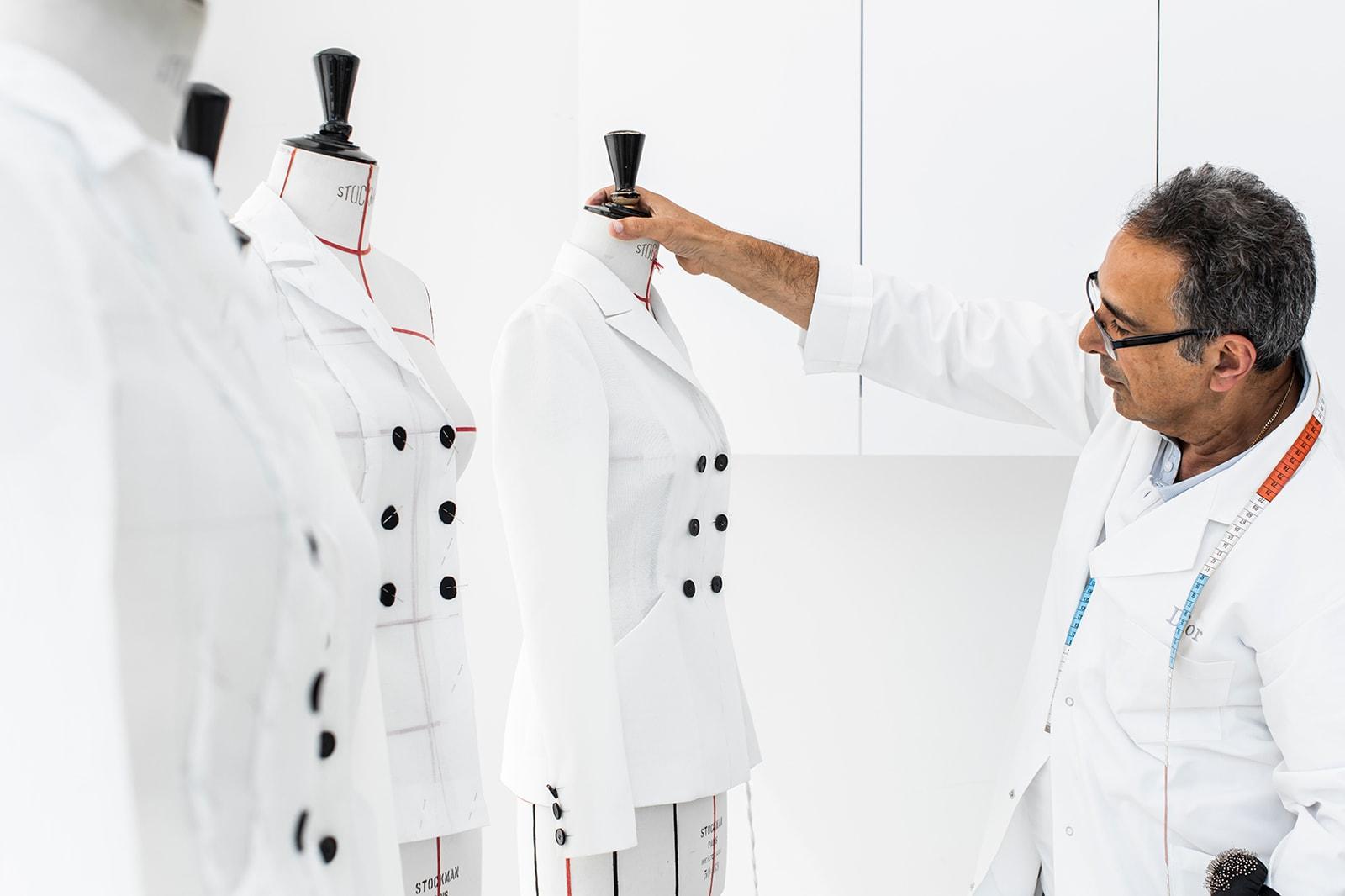 dior bar jacket womens how its made video designer