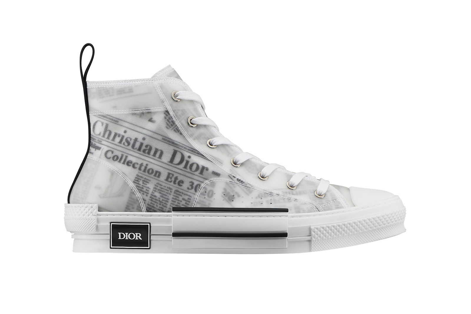 dior newspaper print homme mens kim jones daniel arsham saddle bag b23 sneakers accessories