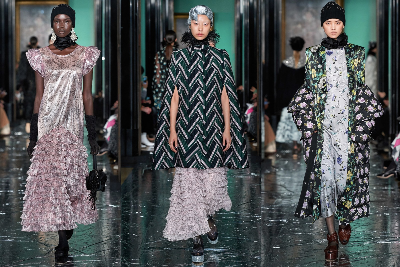 London Fashion Week Fall/Winter 2020 Best Shows Burberry JW Anderson Richard Quinn Erdem Christopher Kane