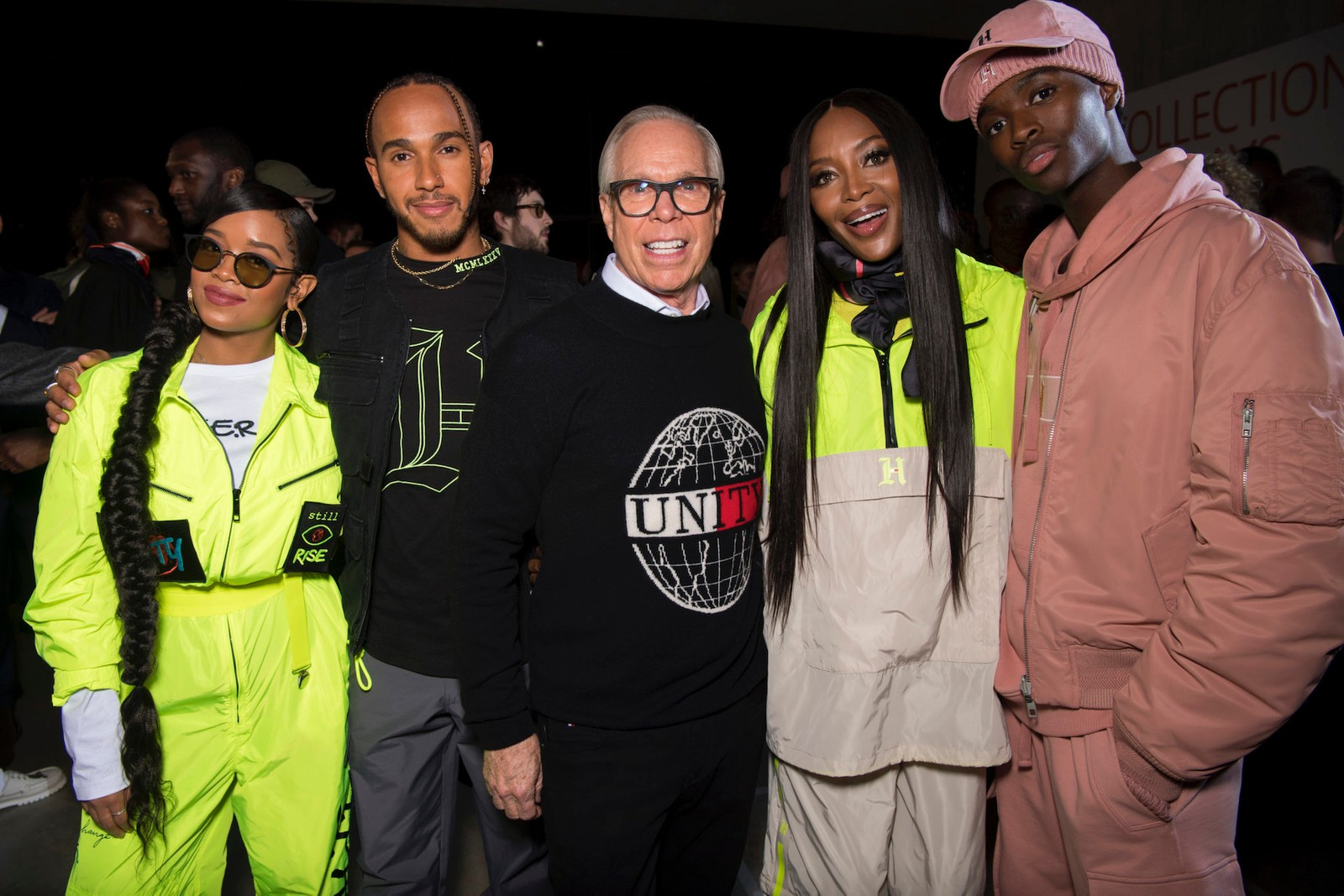 H.E.R. x Tommy Hilfiger Collaboration Interview Backstage Look London Fashion Week