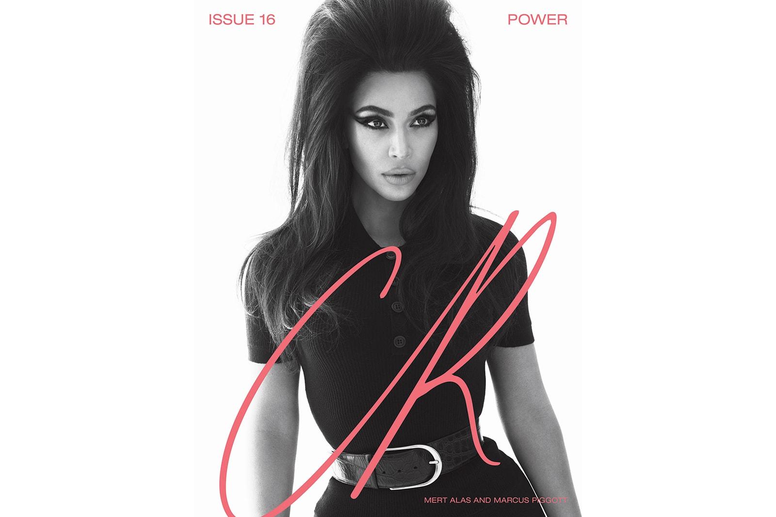 Kim Kardashian Cher CR Fashion Book Power Issue 16
