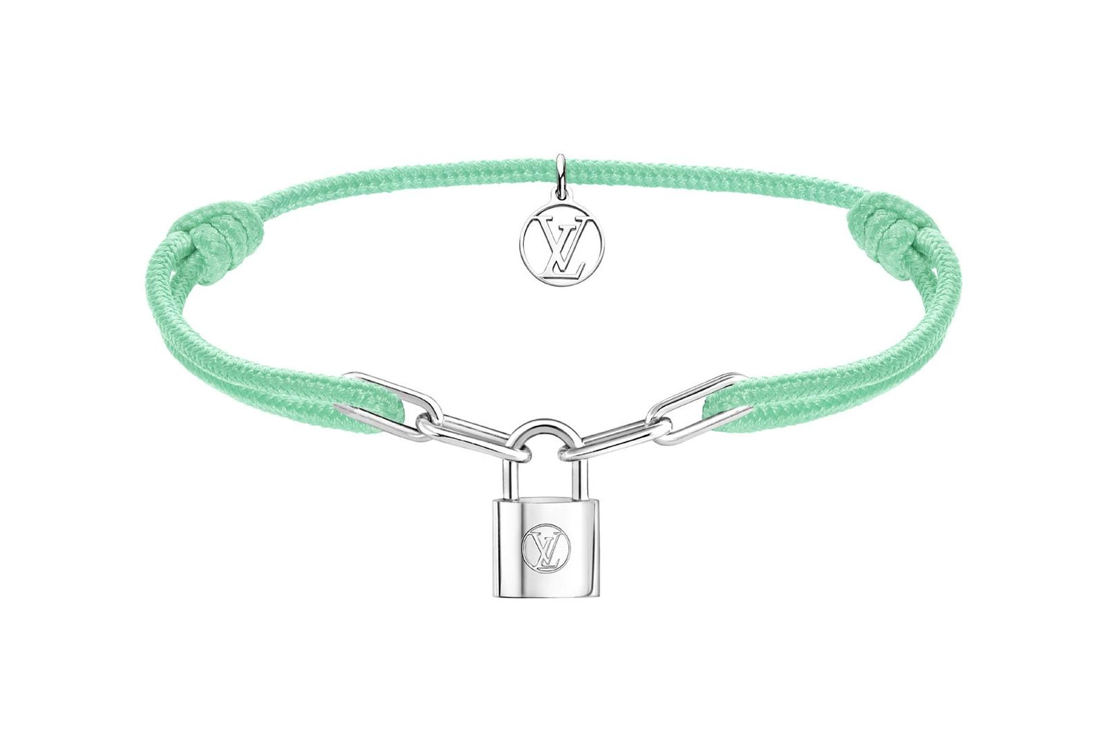 louis vuitton unicef silver lockit virgil abloh bracelets makeapromise campaign charity