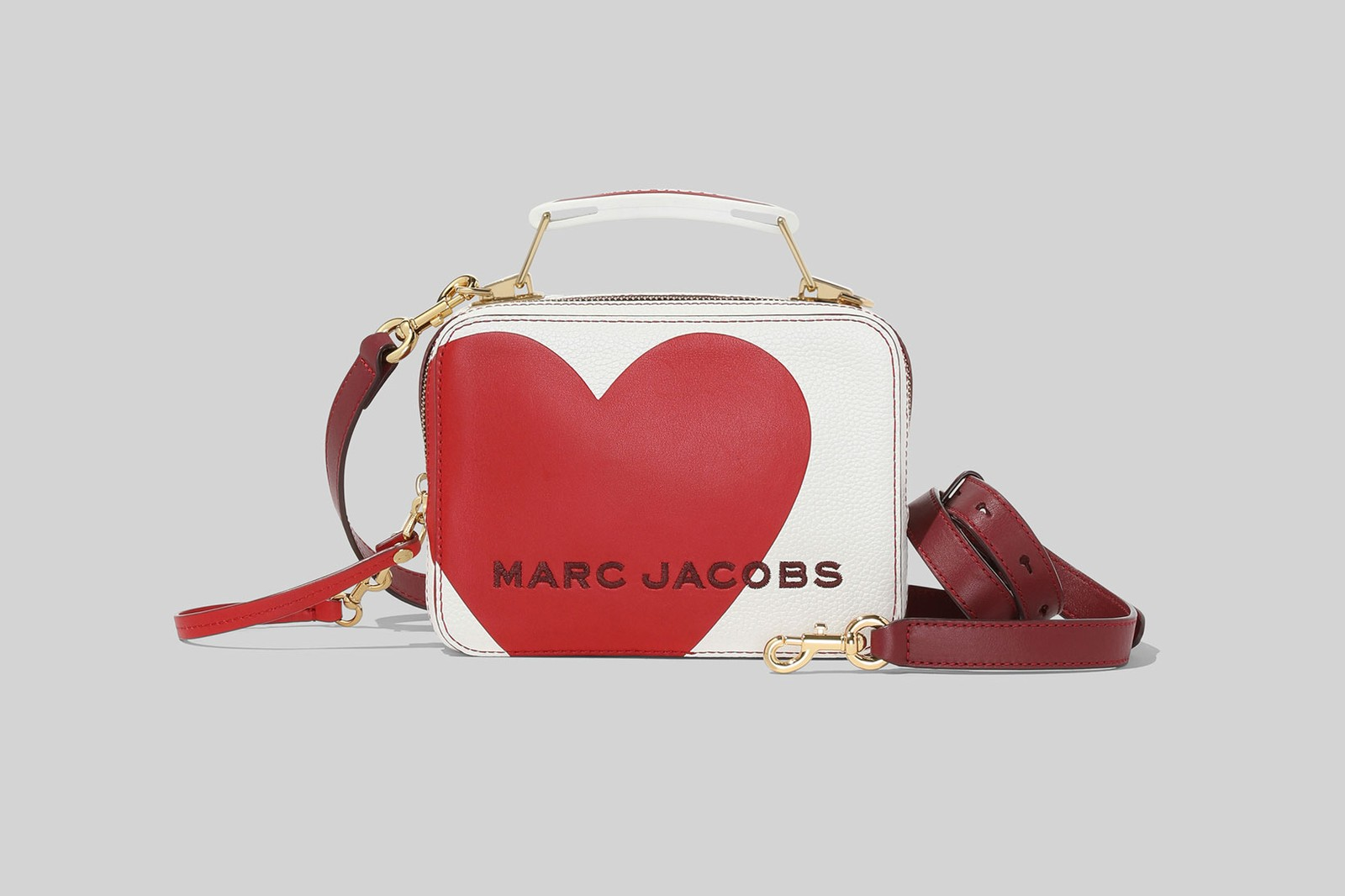 marc jacobs valentines day heart mini box designer bags wallets peanuts