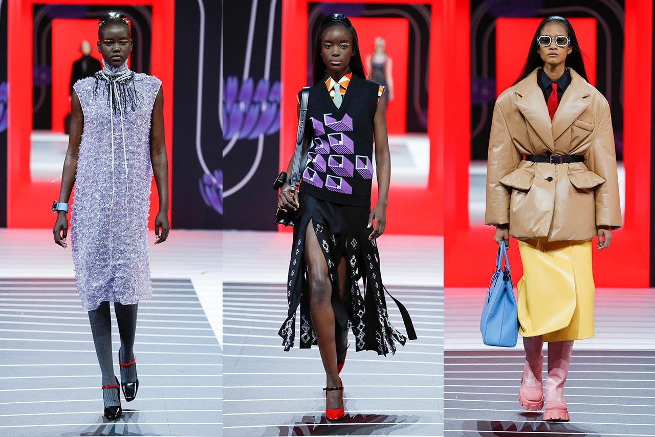 Milan Fashion Week Fall Winter 2020 FW20 Runway Looks Moncler Genius Simone Rocha Gucci Fendi Moschino