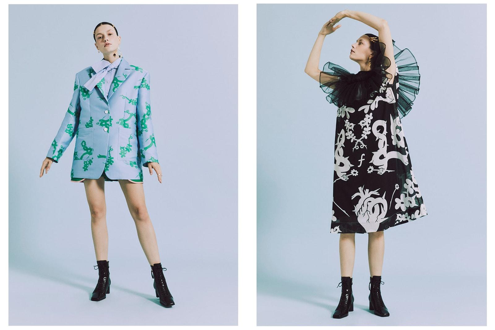 minju kim netflix next in fashion winner interview korean designer dress blue green lookbook