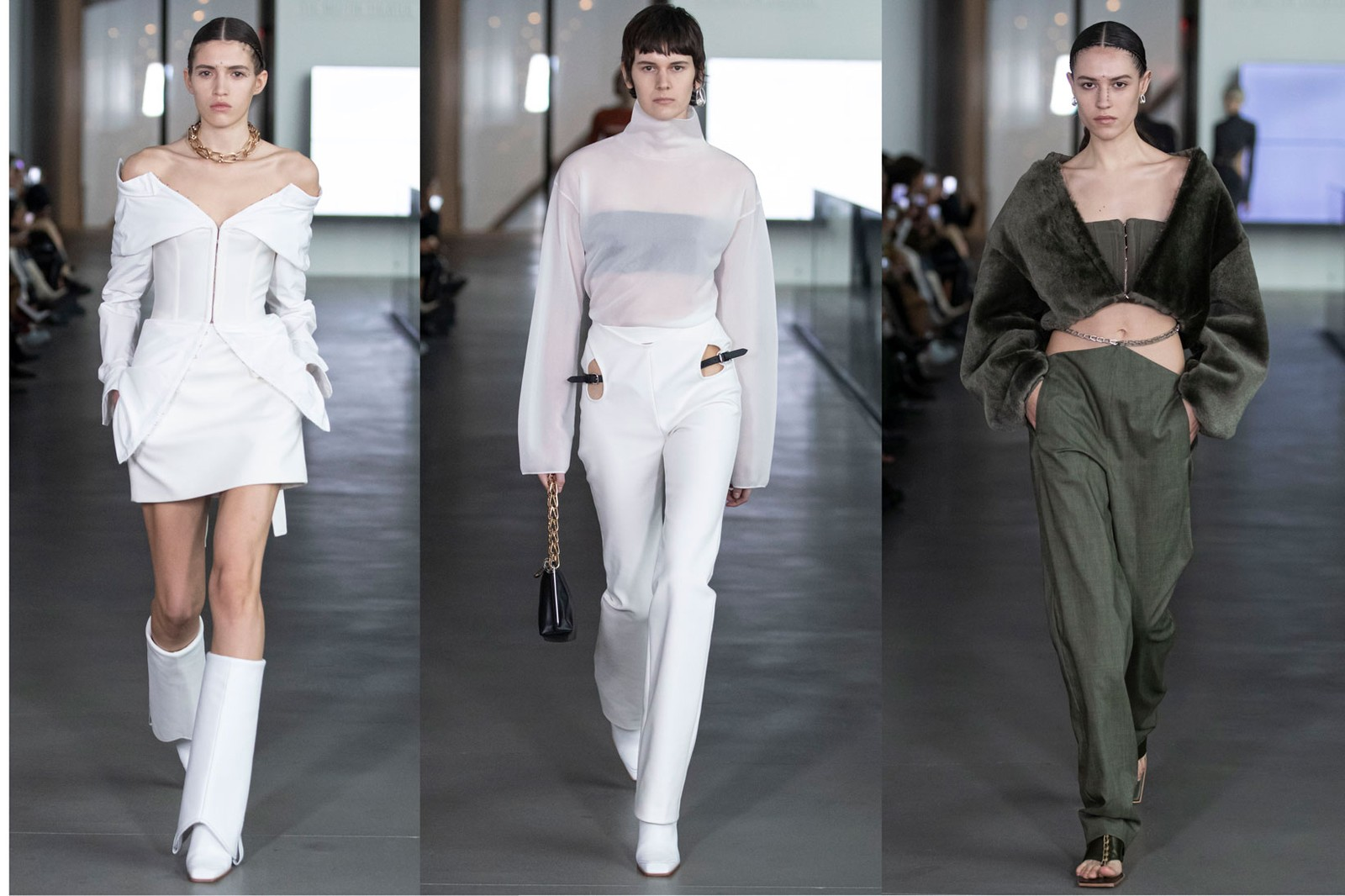 New York Fashion Week Fall/Winter 2020 Eckhaus Latta Khaite Dion Lee Christopher John Rogers