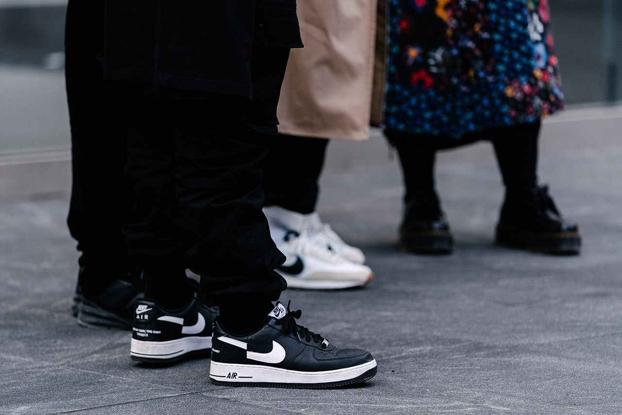 best sneakers new york fashion week nyfw fall winter nike off-white dunk low air force 1 asics