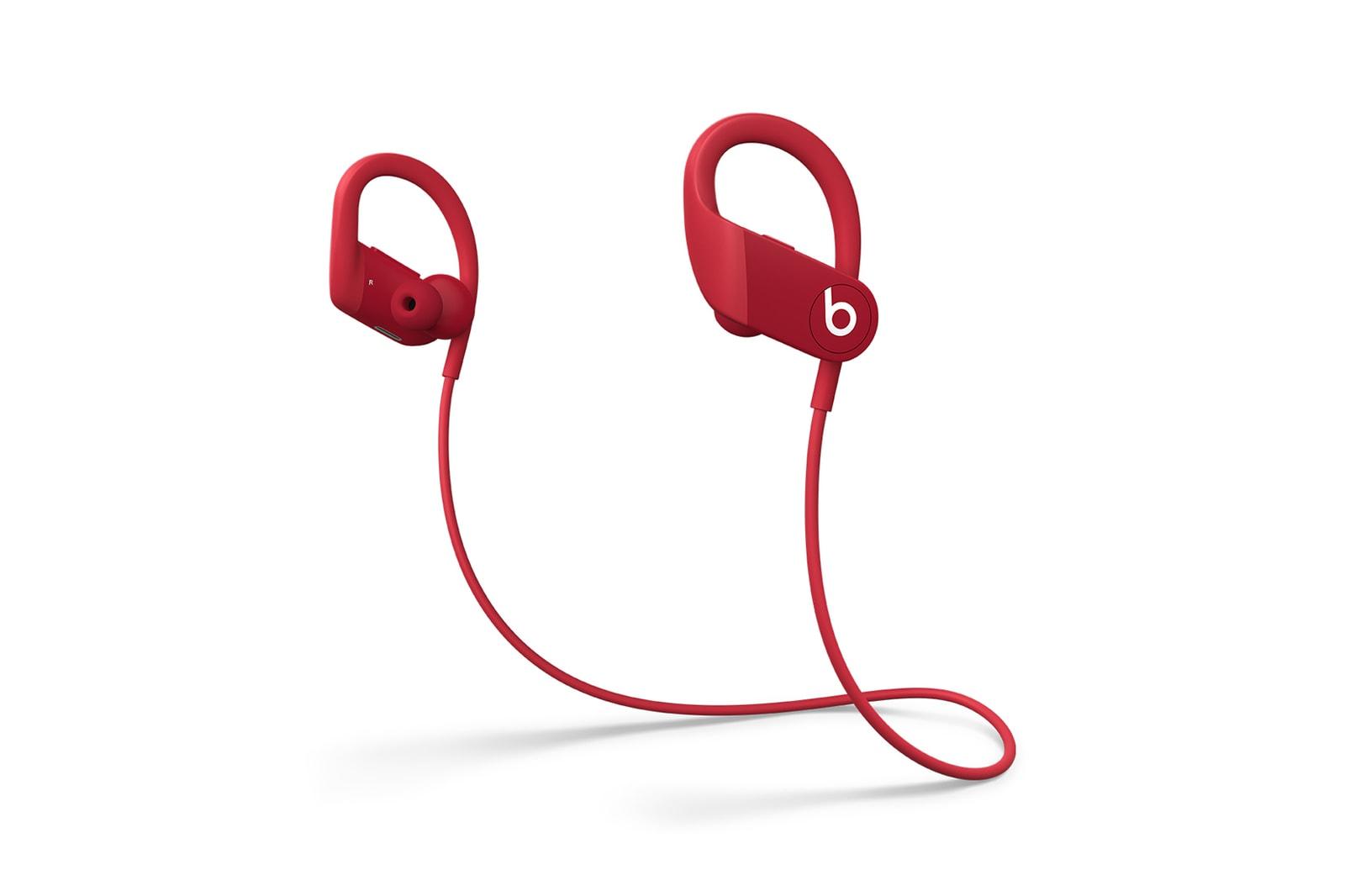 Beats By Dre Powerbeats Earphones Red