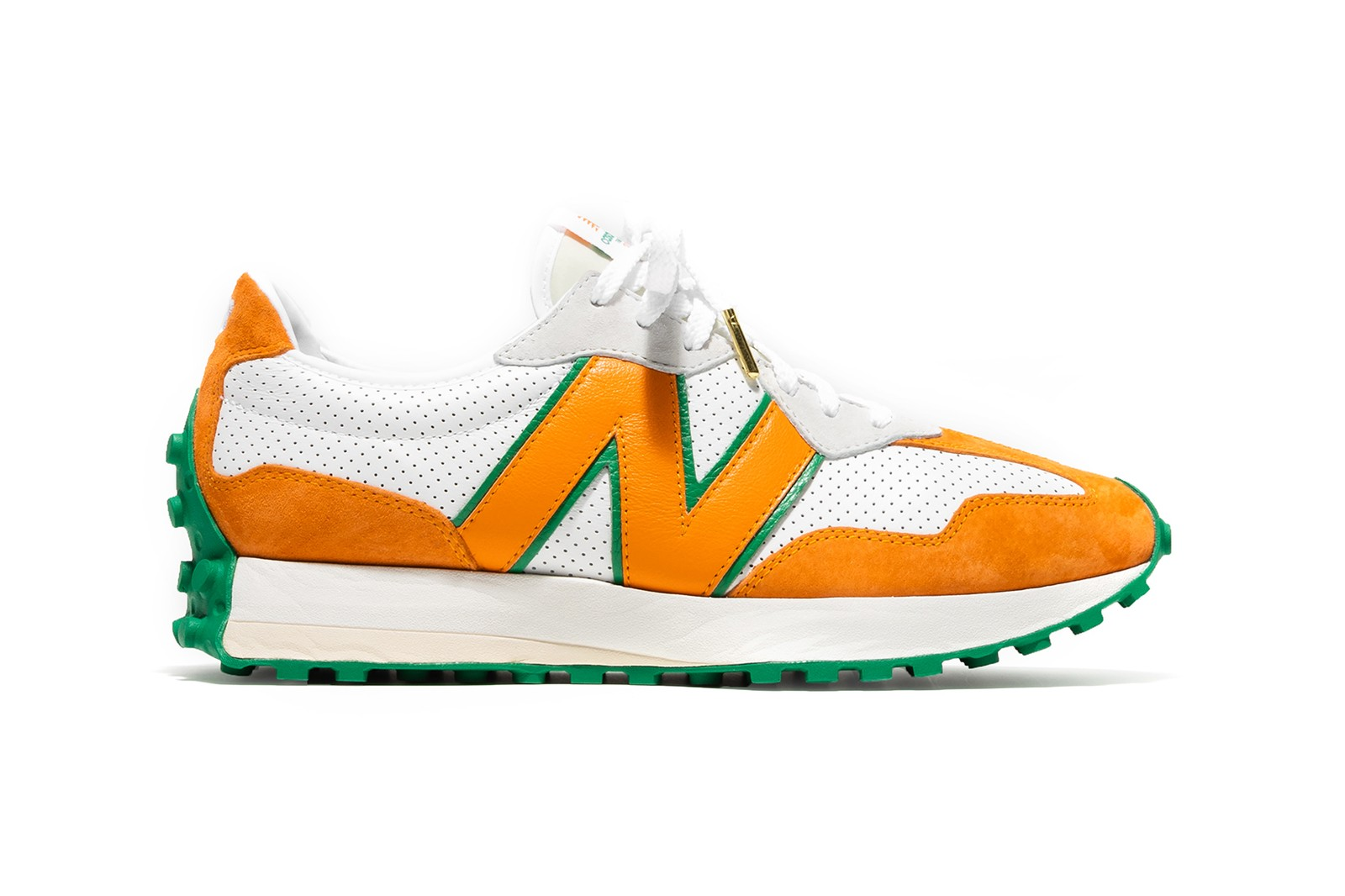 Casablanca x New Balance 327 Sneaker Orange Green