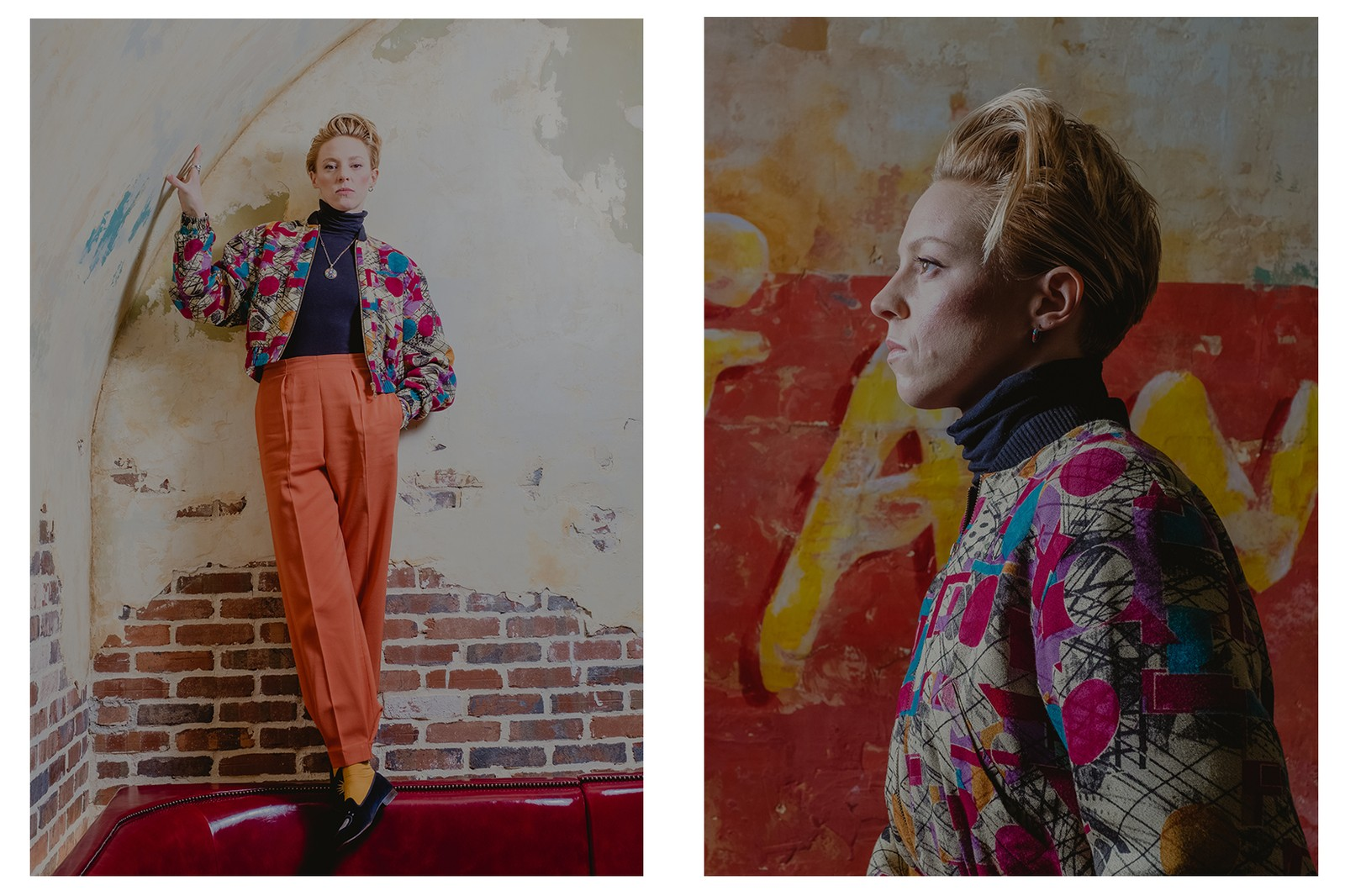 La Roux Interview Supervision Portrait NYC