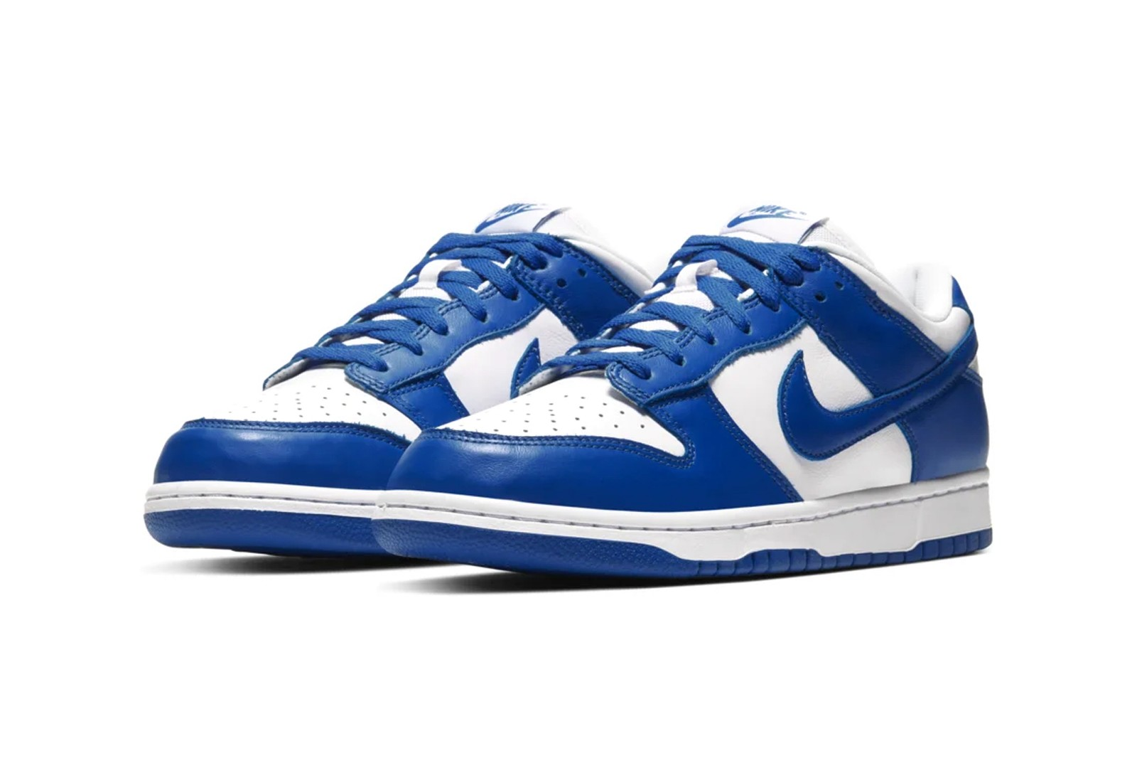Nike Dunk Low Orange Blaze Varsity Royal Blue Syracuse Kentucky Sneakers