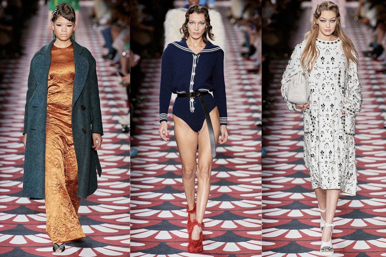 Paris Fashion Week Fall/Winter 2020 Best Shows Dior Louis Vuitton Saint Laurent Givenchy Miu Miu Maison Margiela Balenciaga Runway