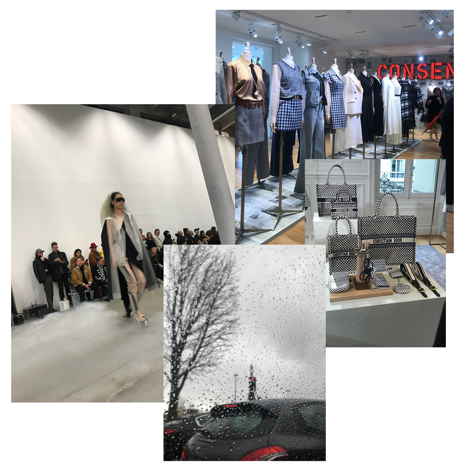 Editor's Photo Diary Paris Fashion Week FW20 shows Events Inside Look